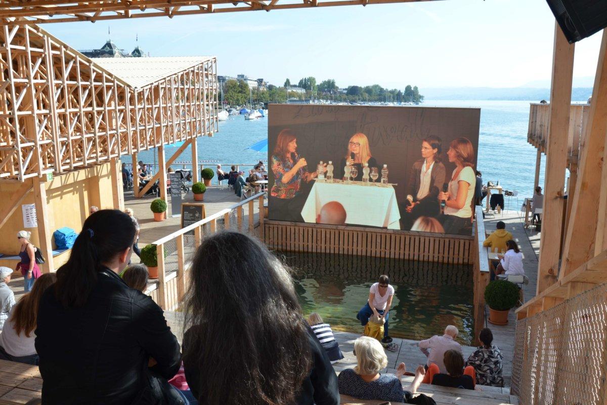 2016 wurden die Talks auf dem Pavillon of Reflections via Livestream übertragen.